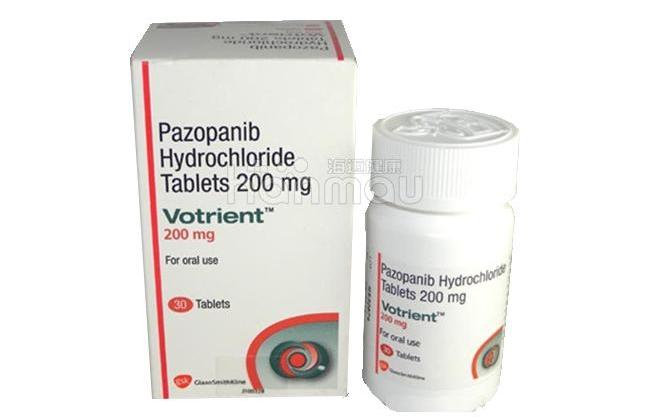 帕唑帕尼(PAZOPANIB)/VOTRIENT 培唑帕尼 维全特