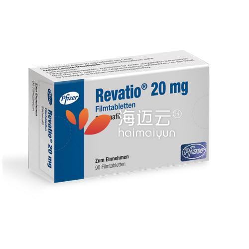 瑞万托(西地那非)中国获批治疗肺动脉高压(PAH)